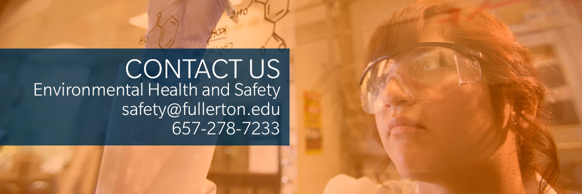 Contact Us safety@fullerton.edu or Ext. 7233